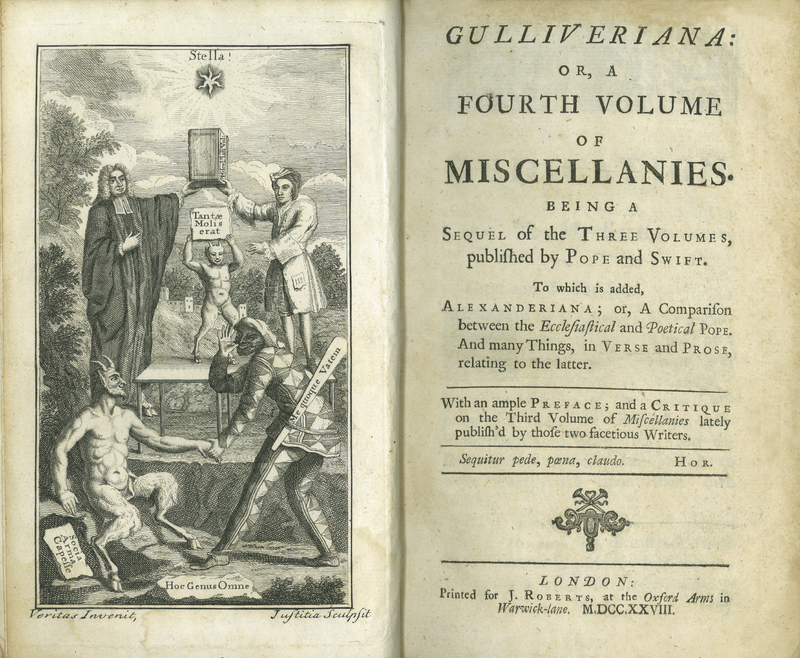 Gulliveriana: Or, A Fourth Volume of Miscellanies