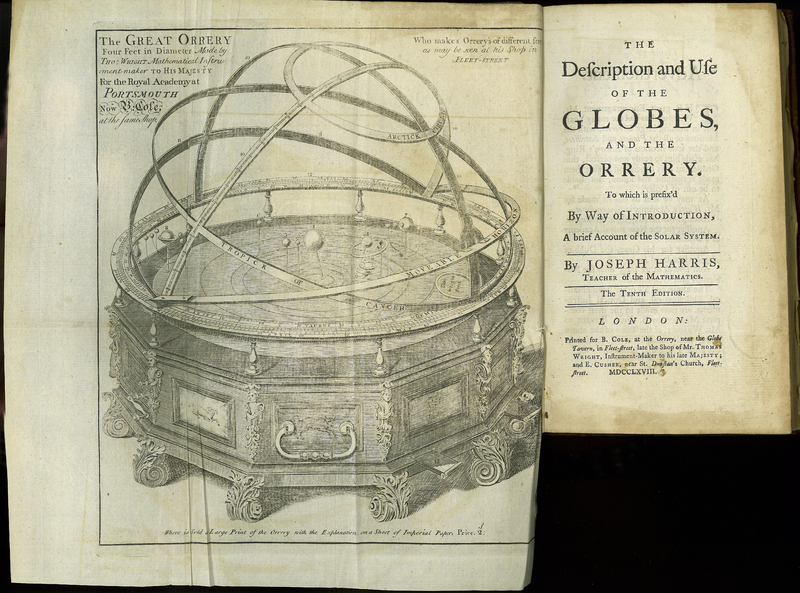 The Description and Use of the Globes and the Orrery. Tenth edition