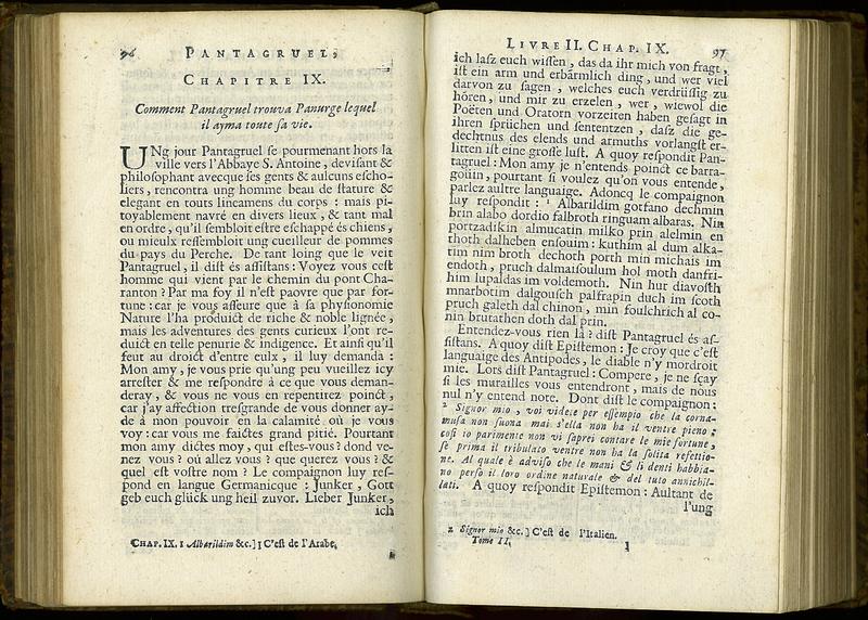 Oeuvres de Maitre François Rabelais. Vol. II