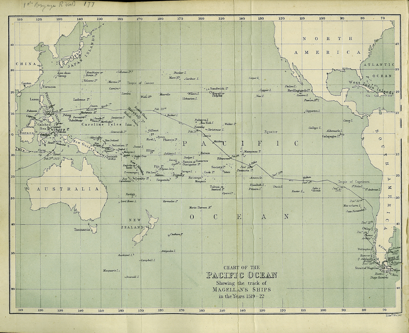 The First Voyage Round the World by Magellan. Translated from the Accounts of Pigafetta