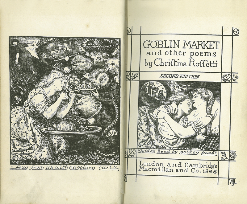 'Goblin Market' and Other Poems. Second edition