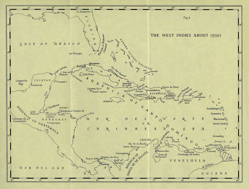 English Privateering Voyages to the West Indies 1588-95