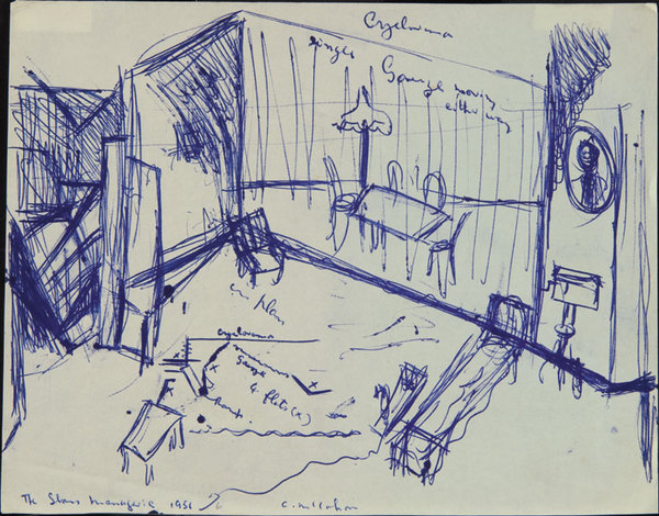 Stage Designs For The Glass Menagerie