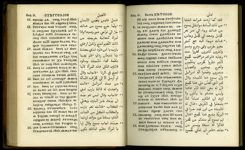 [The Gospels in Coptic and Arabic]