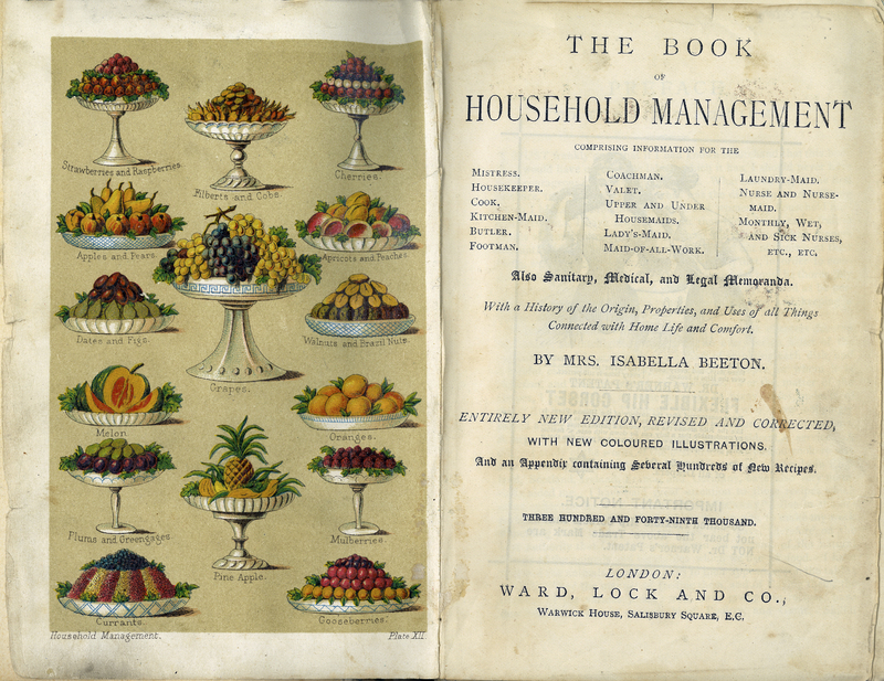 The Book of Household Management: Also Sanitary, Medical, and Legal Memoranda