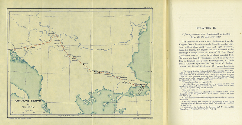 The Travels of Peter Mundy in Europe and Asia, 1608-1667. Vol. I. Travels in Europe, 1608-1628