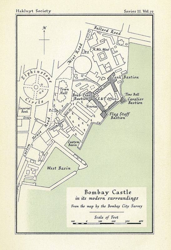 Bombay in the Days of Queen Anne. Being an Account of the Settlement written by John Burnell