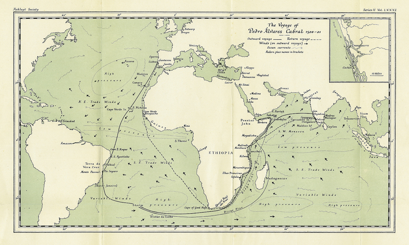 The Voyage of Pedro Álvares Cabral to Brazil and India from Contemporary Documents and Narrative