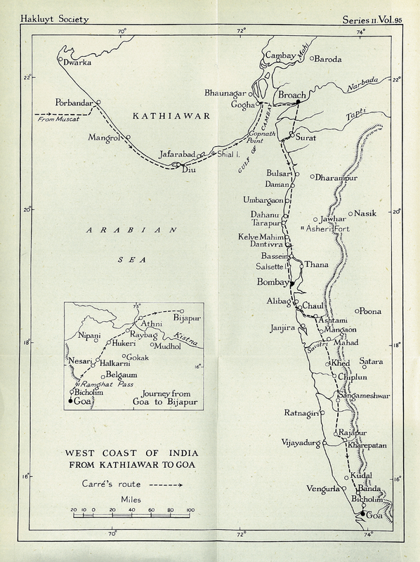 The Travels of the Abbé Carré: in India and the Near East, 1672 to 1674