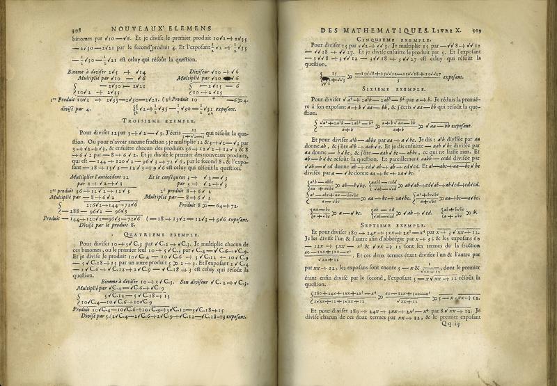 Nouveaux Élémens des Mathématiques, ou Principes Généraux de Toutes les Sciences, Qui ont les grandeurs pour objet. Vol. I