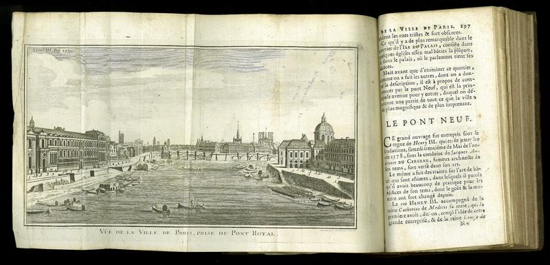 Description de la ville de Paris et de tout ce qu'elle contient de plus remarquable