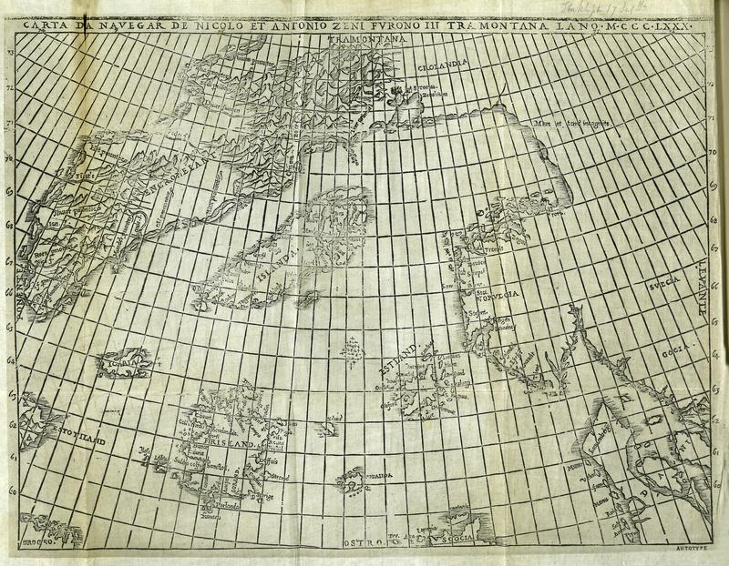 The Voyages of the Venetian Brothers, Nicolo & Antonio Zeno, to the Northern Seas in the XIVth Century