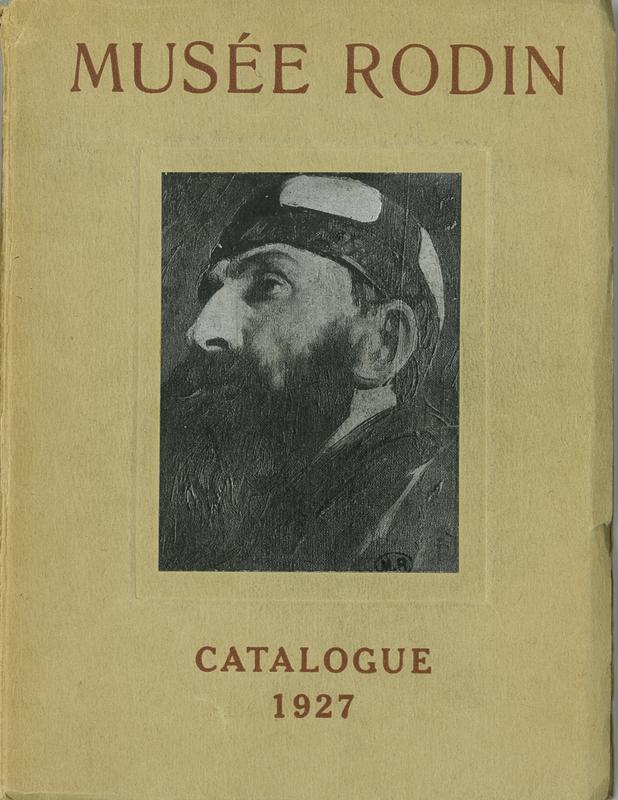Catalogue du Musée Rodin