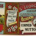 St. George Corned Mutton label