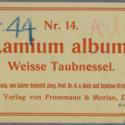Printer ticket : Lamium album