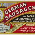 Real German Sausages label