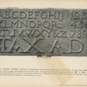 'Plate 15' from Manuscript & Inscription Letters for Schools & Classes & for the Use of Craftsmen