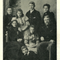 The Mellor Family c. 1891 from Transactions of the British Ceramic Society.Mellor Memorial Number, Vol. XXXVIII.