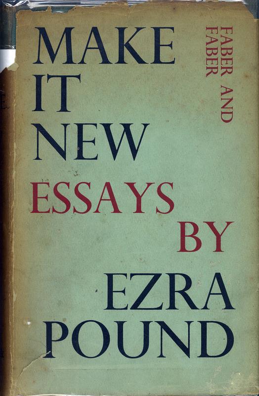 Ezra pound poetry paper