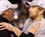 Doug Pederson Informs Nick Foles He's Been Traded To Browns While Handing Him Lombardi Trophy