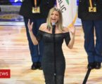 Fergie's national anthem 'foul' at NBA game