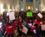 All of West Virginia's public schools are closed due to a teacher walk-out over pay