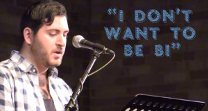 """I Don't Want To Be Bi"" as part of Too Queer: A Bi Visibility Cabaret"
