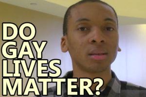 Do Gay Lives Matter?
