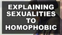 Explaining Sexualities to Homophobic Peers