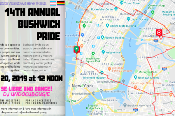 Community ride 2   ride to bushwick pride event