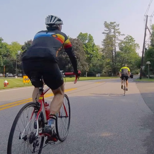 Saddle river cyclists
