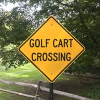 Armonk golf cart crossing