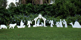 Complete Nativity Scenes