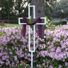 Easter Yard Cross