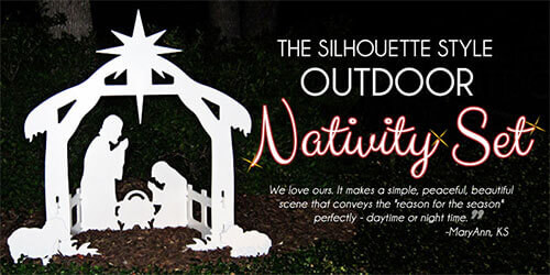 Outdoor nativity sets the expert