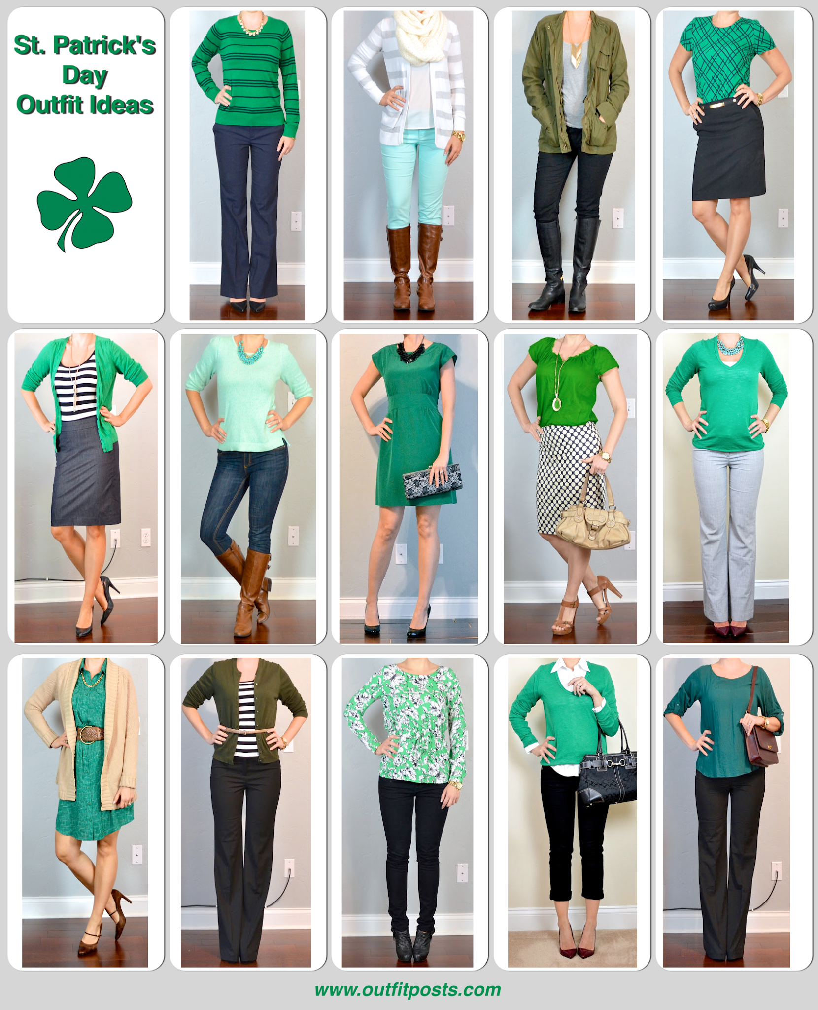 Outfit Posts St Patricks Day Ideas