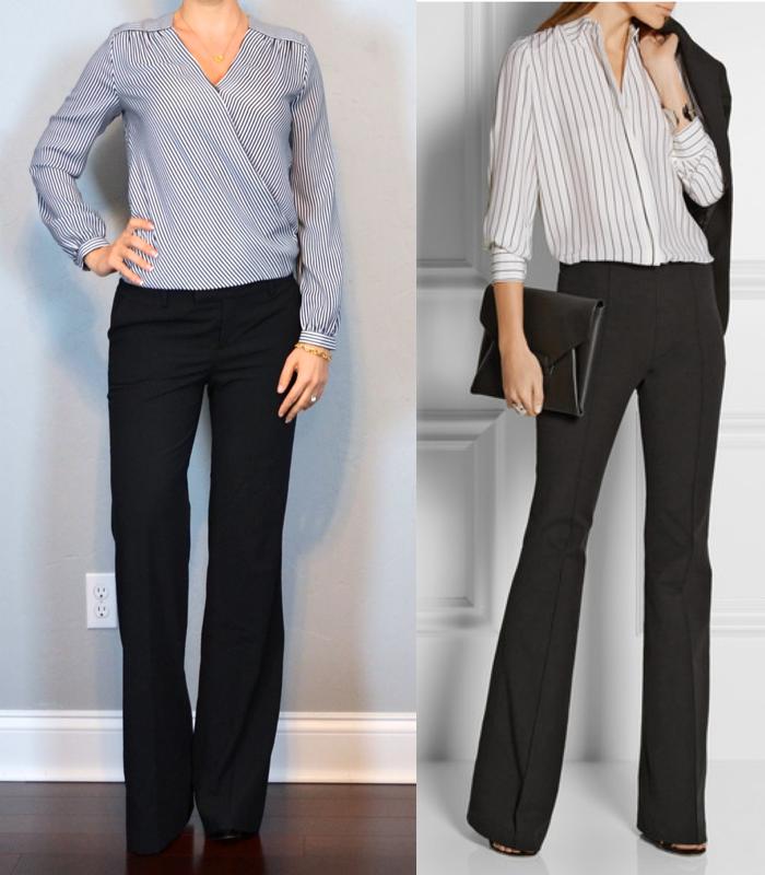 4da1da3ad0f outfit post  stripe crossover blouse