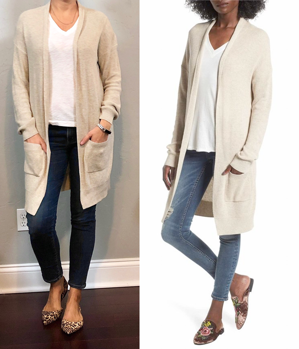 outfit post  beige cardigan 71f0e0b39