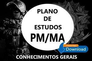 plano de estudos - pm/ma