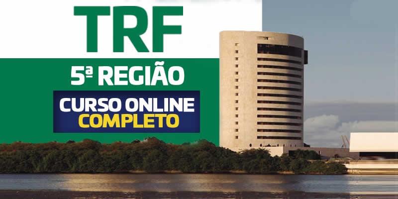 Curso online TRF 5 Região