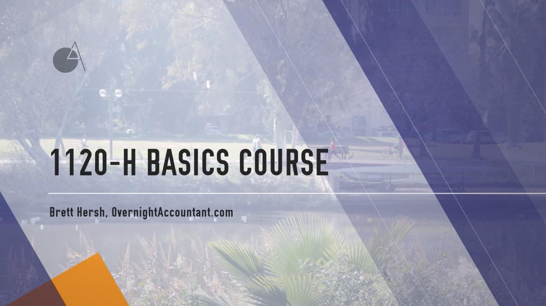 1120 h basics courses overnightaccountant falaconquin