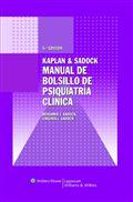 image of Kaplan & Sadock. Manual de bolsillo de psiquiatría clínica