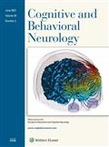image of Cognitive and Behavioral Neurology