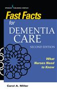 image of Fast Facts for Dementia Care: What Nurses Need to Know