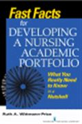 image of Fast Facts for Developing a Nursing Academic Portfolio: What You Really Need to Know in a Nutshell