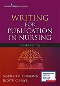 image of Writing for Publication in Nursing