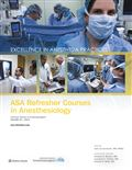 image of ASA Refresher Courses in Anesthesiology