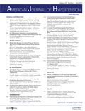 image of American Journal of Hypertension