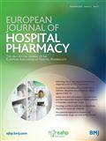 image of European Journal of Hospital Pharmacy