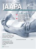 image of Journal of the American Academy of PAs